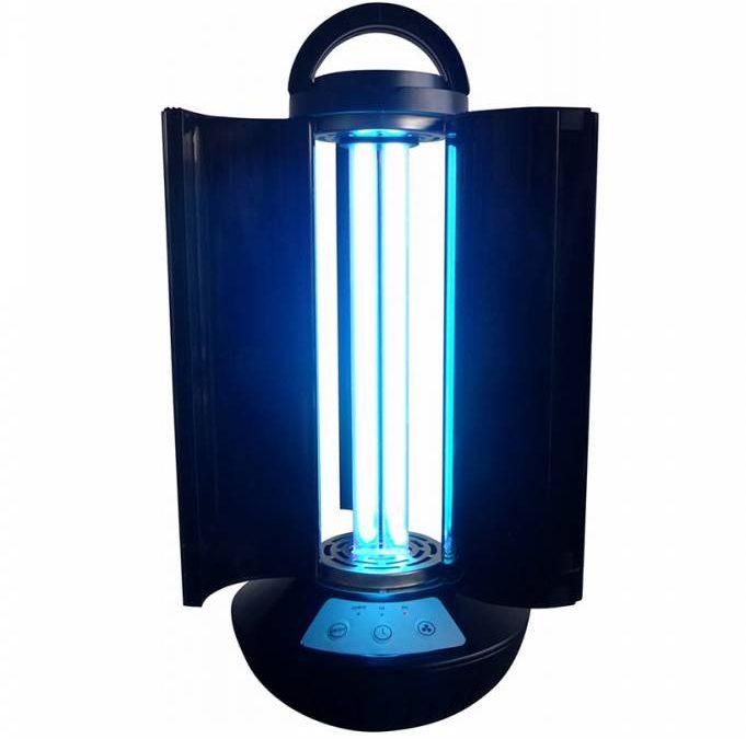 UV лампа DL-UV101 безопасна